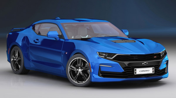 chevrolet camaro ss 2019 3D model