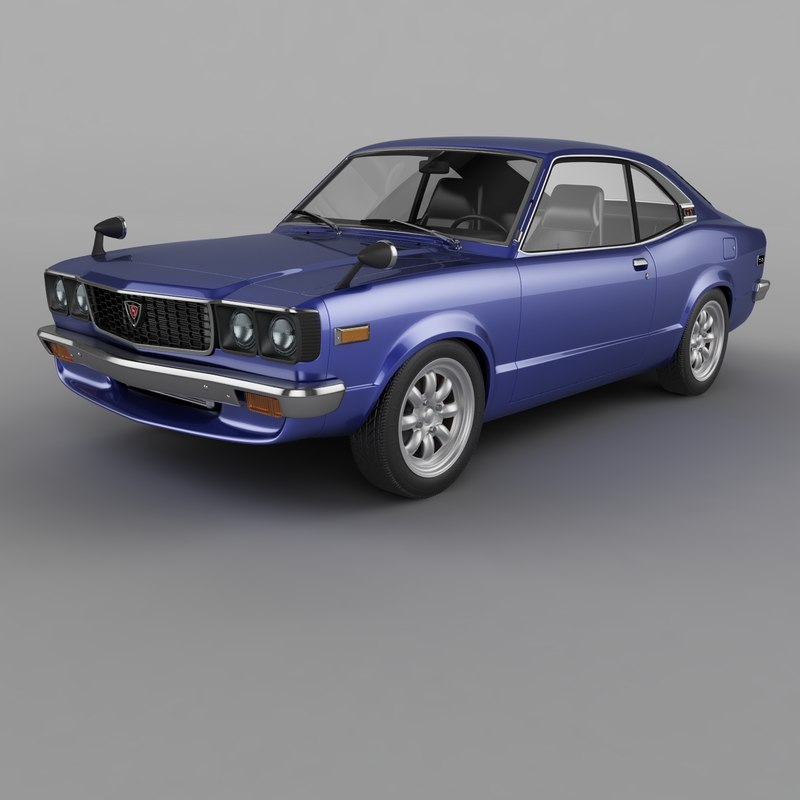 1974 mazda rx3 savanna 3D model