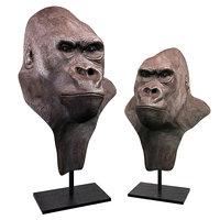 gorilla head resin 3D model