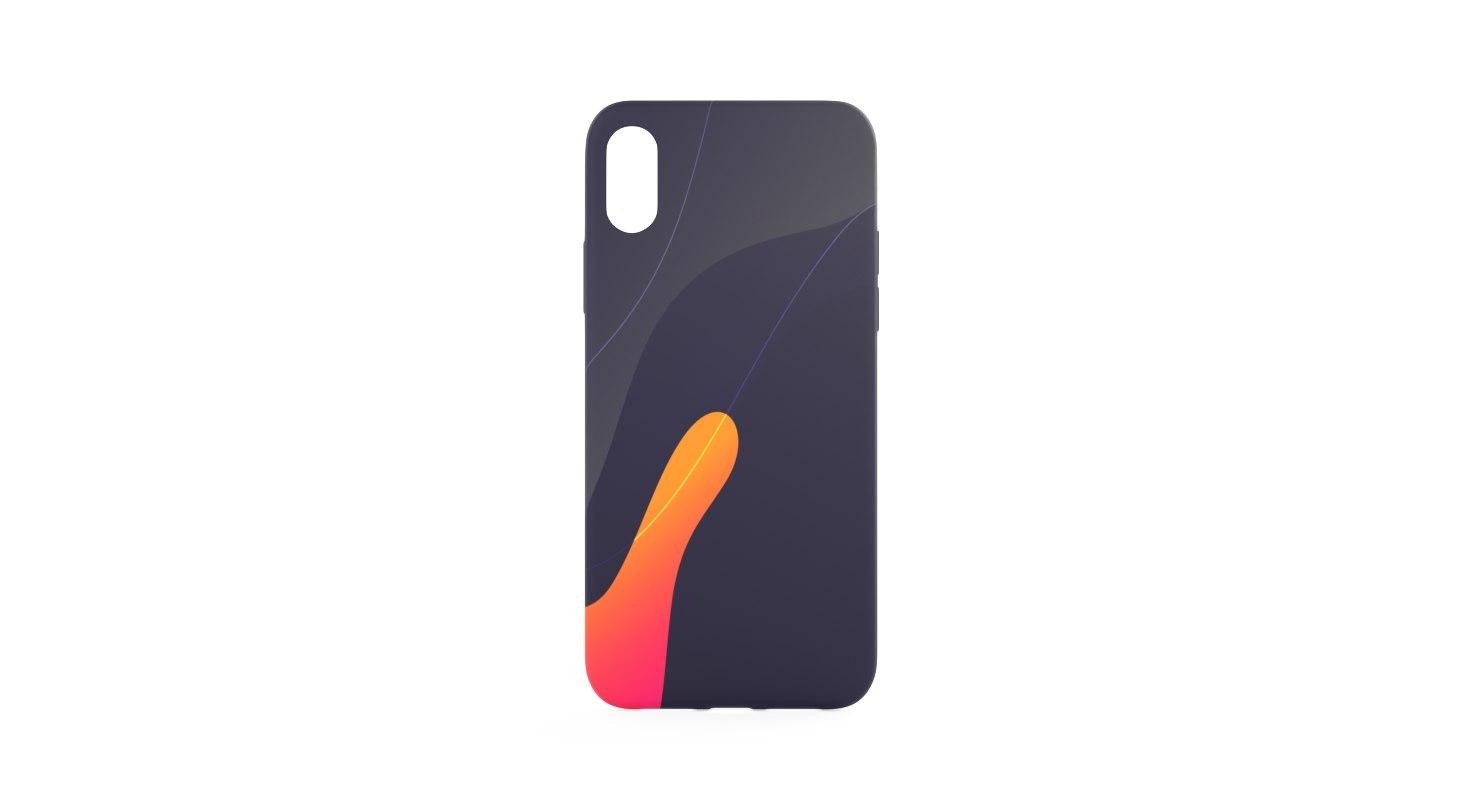 iphone case x 3D model