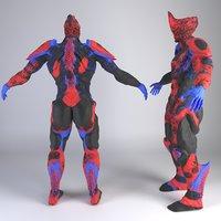 warframe excalibur 3D model