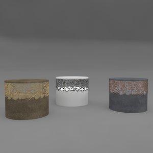 coffee table arabic 3D model