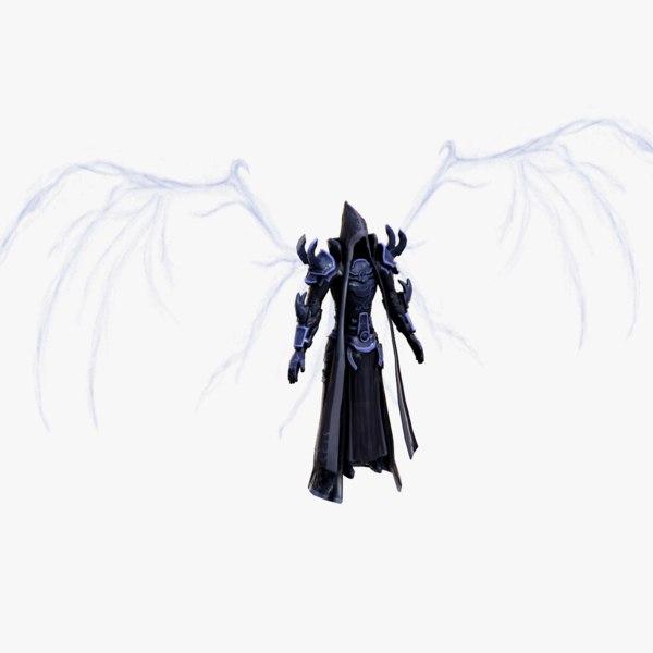 3D angel death
