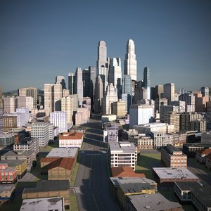 city scape 3D