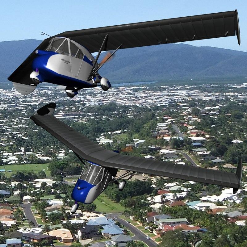 3D historic aerobile