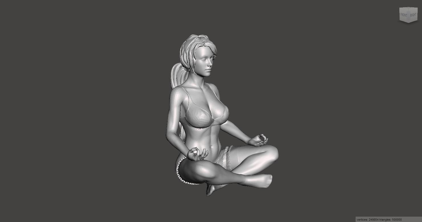 printable realistic 3D model