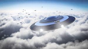 3D modeled ufo