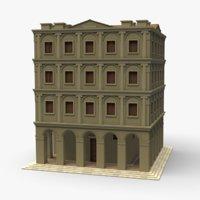 italian palace tan 3D