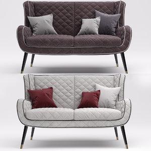 3D sofa baxter dolly model