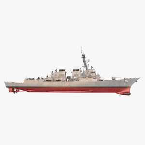 3D uss winston s churchill