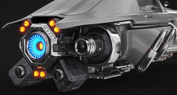 car future 3D model