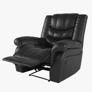 3D recliner chair