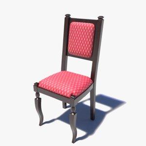 3D classic chair