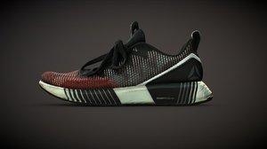3D reebok sneakers scan model