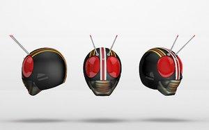 kamen rider black 3D model