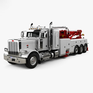 388 wrecker 3 3D model