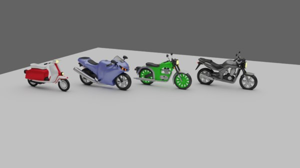 pack rigged 3D model