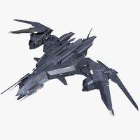 Sci-Fi Fighter Drone