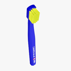toothbrush brush tooth 3D