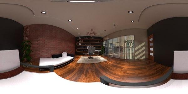 office design 3D model