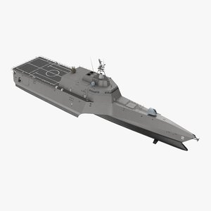 3D model littoral combat ship
