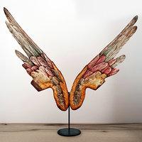 large pair angels wings model