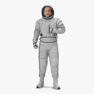 astronaut spacesuit generic space model