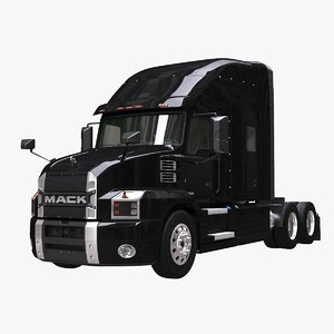 mack anthem sleeper cab 3D model
