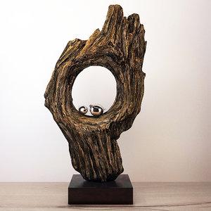 3D model wooden decor wj-1265fm