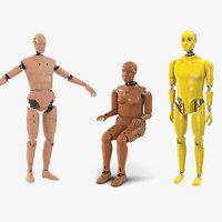 crash test dummies 2 3D model