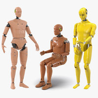 crash test dummies 2 3D