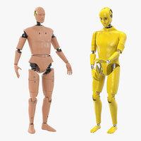 3D crash test dummies 3