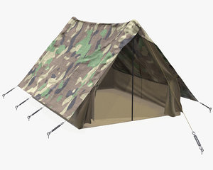 3D tent military