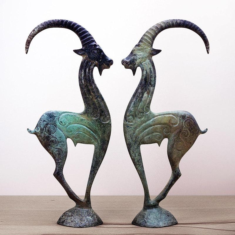3D greekmythos - wild goat