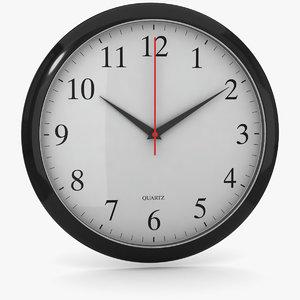 office clock 3 3D model