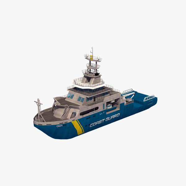 3D poseidon coast guard