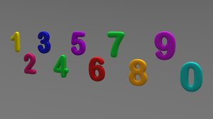 numbers numeral model
