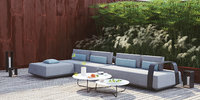 manutti sofa outdoor scene 3D