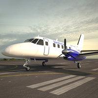 embraer emb 110 3D