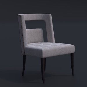 3D brabbu naj armchair chair bar model