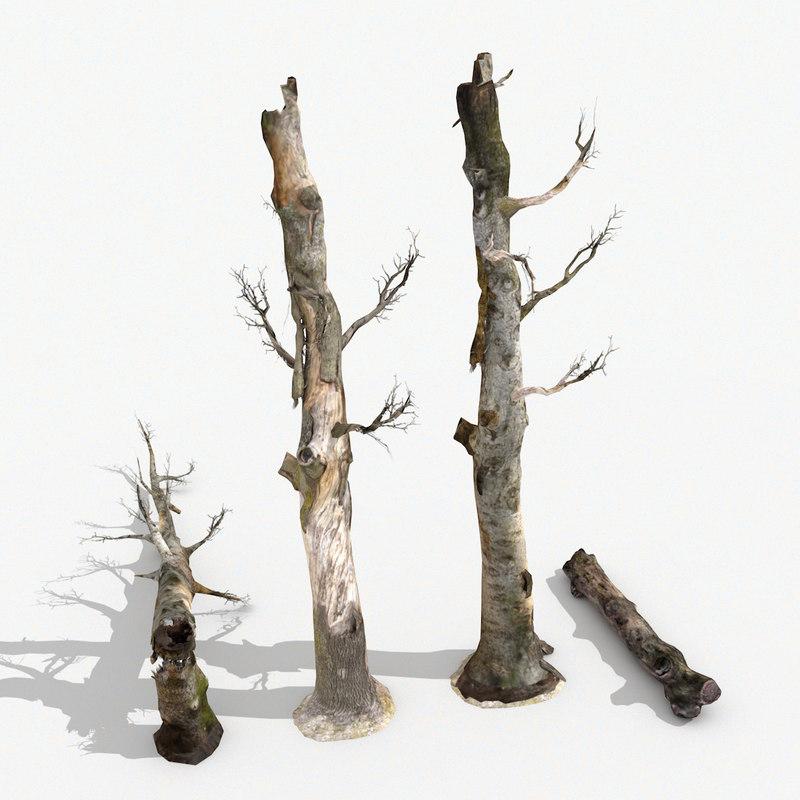 3D ready dead trees