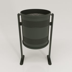 bcn trash bin 3D
