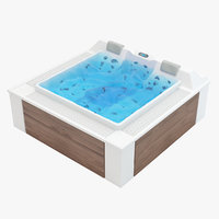 aquavia barcelona hot tube model