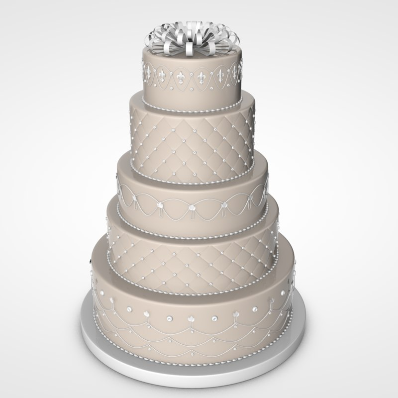 party cake 3D
