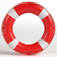 3D lifebuoy ready model