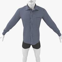 long shirt 3D model