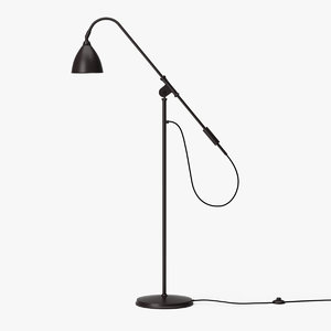 gubi bl4 floor lamp 3D model