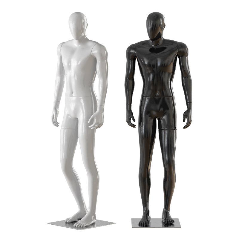 faceless male mannequin model