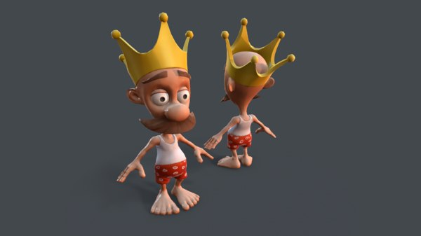 king character 3D