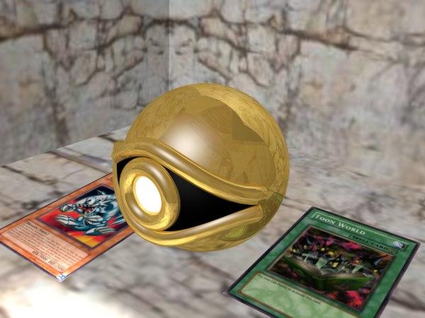 millenium eye puzzle 3D model